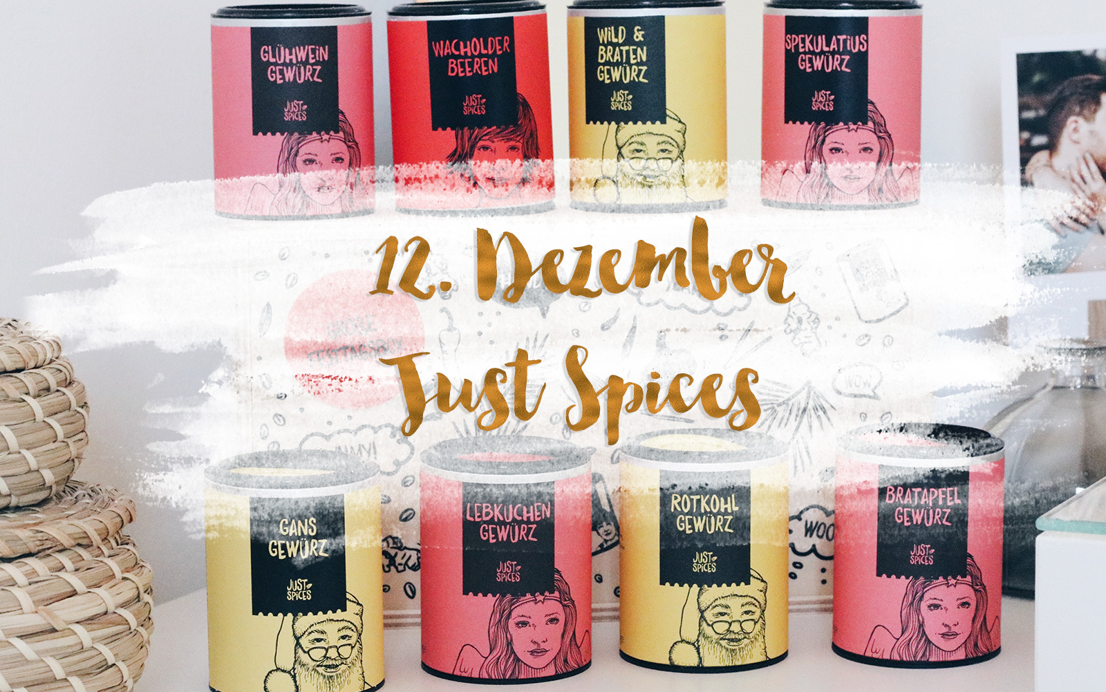 Mrs. Brightside Blogger-Adventskalender Blogger Blog Hamburg Adventskalender Gewinnspiel Just Spices Food Gewürze Paket 3