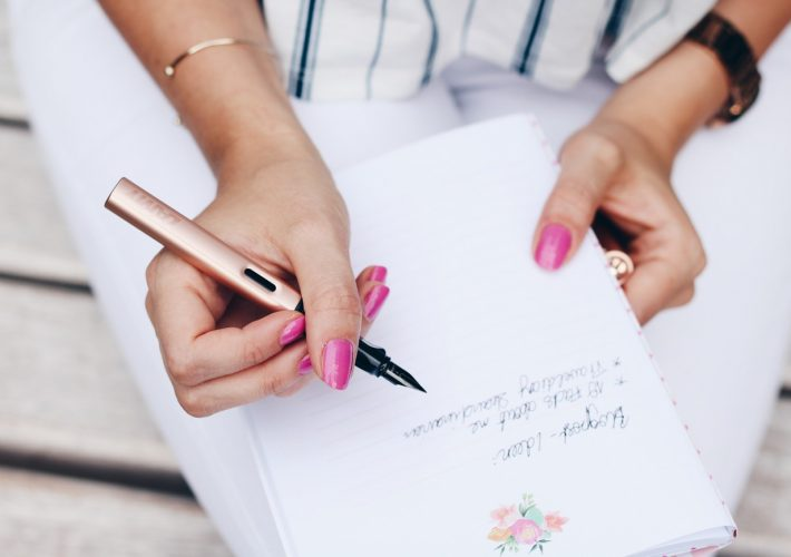 Mrs. Brightside Lamy Kooperation Handschrift Handwriting Füller Stifte Notizen Lifestyle Post Blogger
