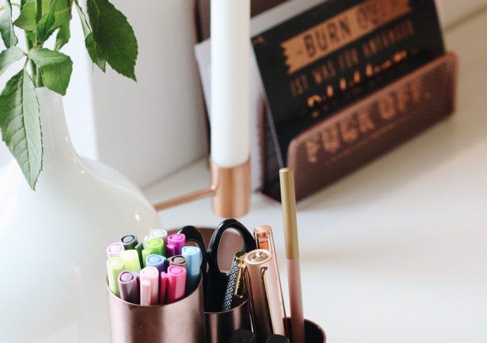 DIY Kupfer Deko Dekoration Interior Einfach Günstig Blogger Projekt Mrs. Brightside
