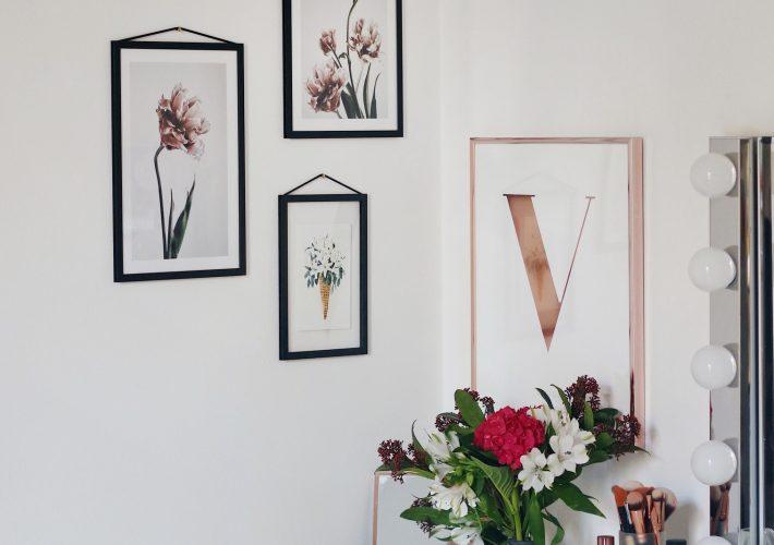 Mrs. Brightside Blogger Blog Hamburg Interior Florale Poster Desenio